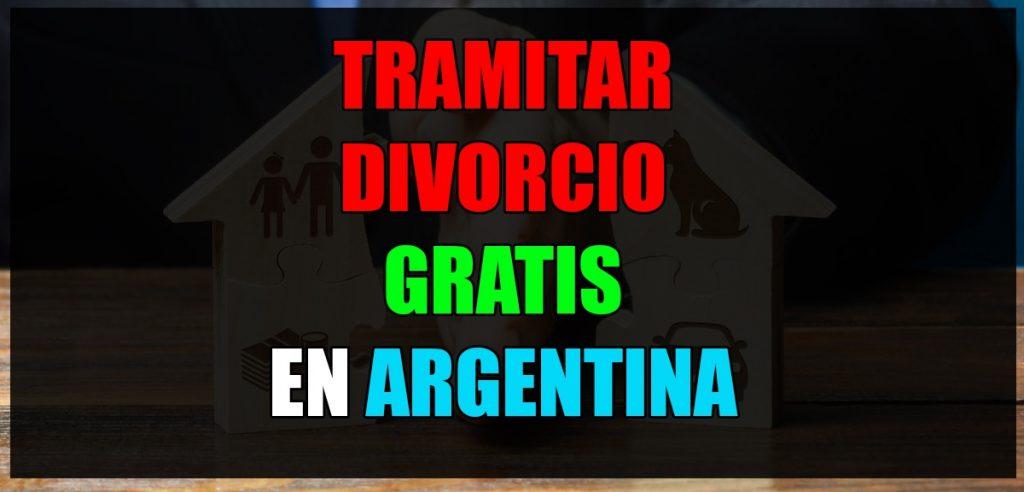 tramitar divorcio argentina